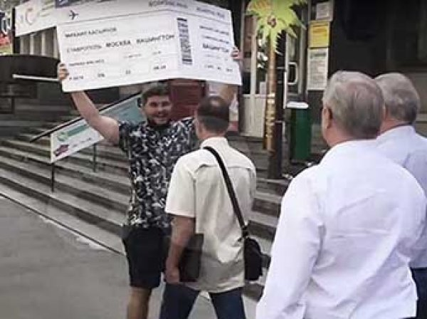 В Сеть попало ВИДЕО новой яичной атаки на Касьянова в Ставрополе