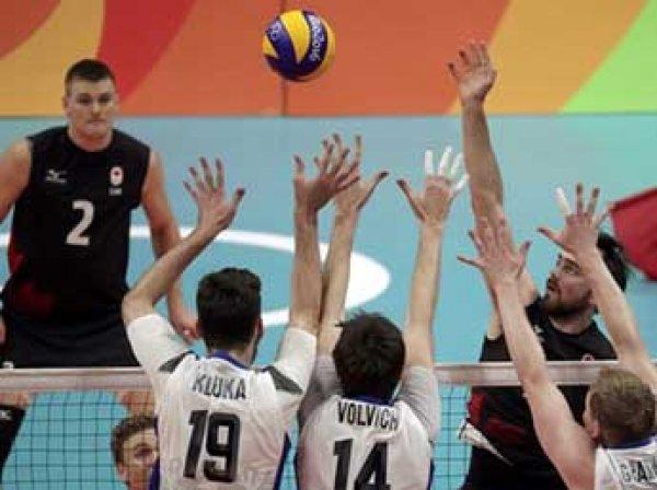 Россия - Канада, волейбол 2016, мужчины: счет 3:0 вывел россиян в полуфинал Олимпиады 2016 (ВИДЕО)