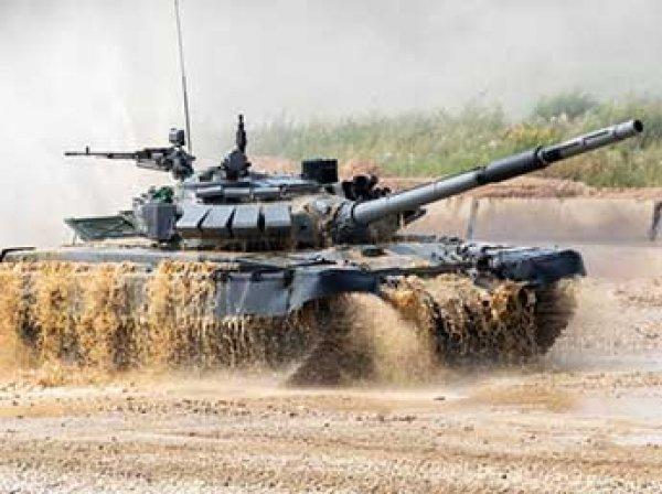 На учениях в Челябинске затонул танк Т-72 с экипажем