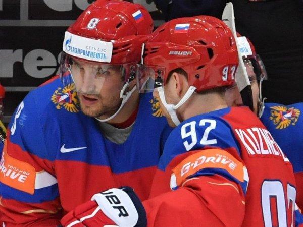 Кубок мира по хоккею 2016: Овечкин и Кузнецов сыграли матч с Северной Америкой со включенным микрофоном (ВИДЕО)