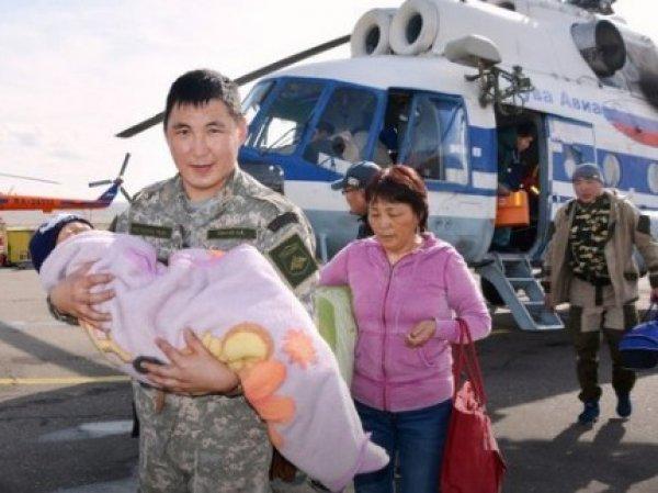 В Туве трехлетний мальчик чудом выжил после трех дней в тайге (ФОТО)