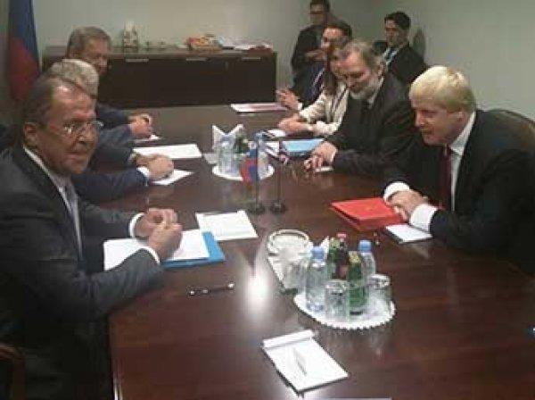 Захарова: Лавров начал знакомство с главой МИД Британии с шутки