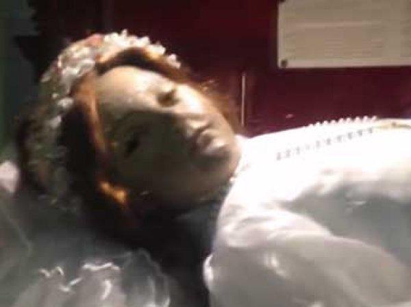 """В Мексике """"проснулась"""" 300-летняя мумия (ВИДЕО)"""