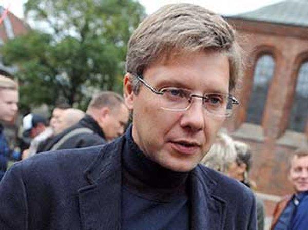 """Мэр Риги назвал министра образования Латвии """"дилетантов и сволочью"""""""