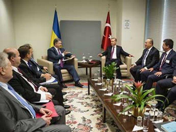 Эрдоган пообещал Украине поддержку в возвращении Крыма