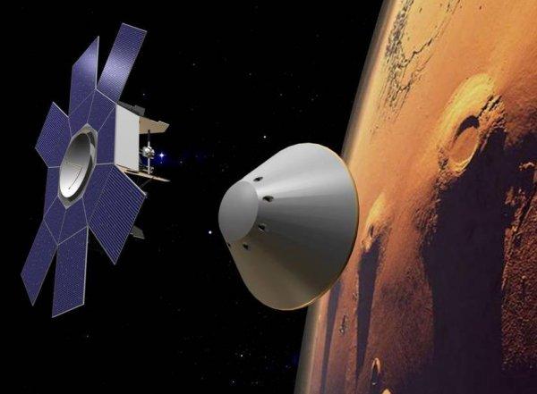 """""""ЭкзоМарс 2016"""", последние новости: модули миссии успешно разделились на подлете к Марсу (ВИДЕО)"""