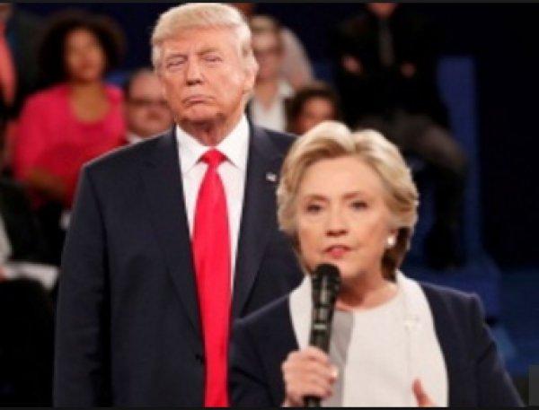 Севшая на бровь Хиллари Клинтон во время теледебатов муха стала звездой соцсетей (ФОТО)