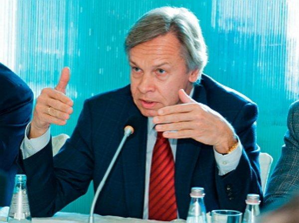 Пушков жестко ответил Макфолу на предложение вернуть Крым