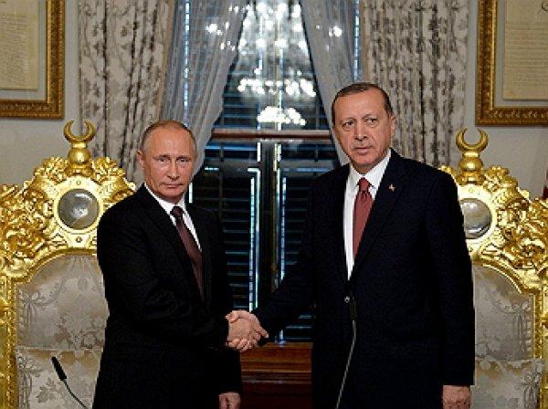 """Россия и Турция подписали соглашение по """"Турецкому потоку"""""""