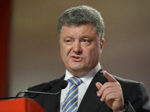 """""""Мы в этой войне победим"""": Порошенко уверен, что вернет Донбасс и Крым под украинский флаг"""