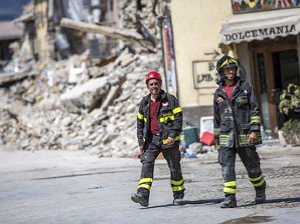В Италии произошло землятрясение: опубликовано первое видео