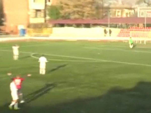 Youtube ВИДЕО: голкипер ростовского СКА забил победный мяч с 85 метров