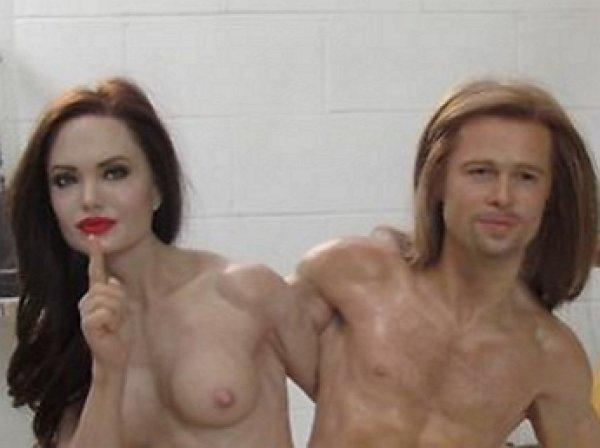 На eBay выставили на продажу восковую статую голой Бранджелины (ФОТО)