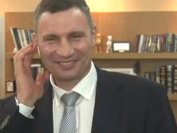 Мэр Киева Виталий Кличко не смог сложить 13 и 3 в прямом эфире (ВИДЕО)