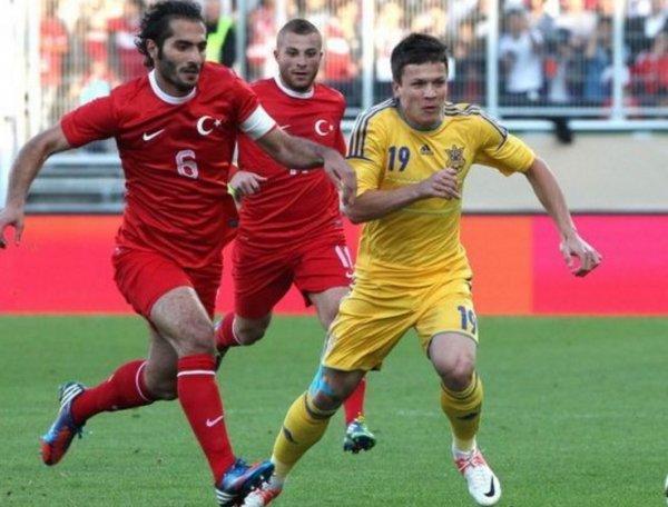Турция – Украина, счет 2:2: обзор матча, видео голов (ВИДЕО)