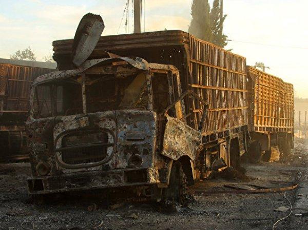 Эксперты назвали инсценировкой атаку на гумконвой в Сирии
