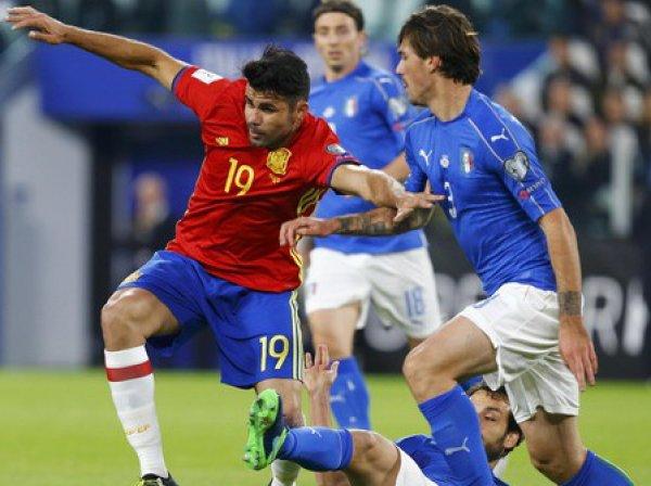 Италия – Испания, счет 1:1: обзор матча, видео голов (ВИДЕО)