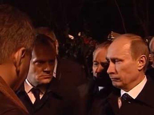 Польша обнародовала ВИДЕО встречи Путина и Туска в день катастрофы Ту-154 под Смоленском