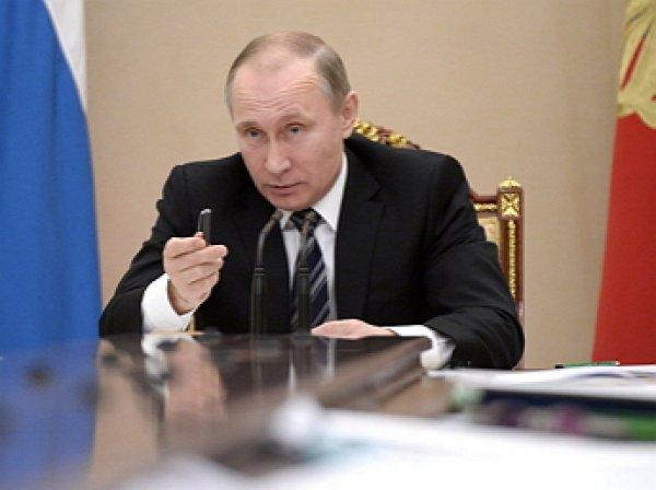 Путин уволил четырёх генералов МВД
