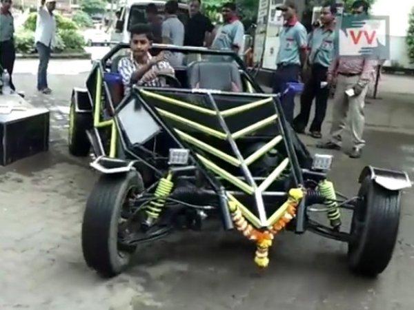 Юный индиец постоил автомомбиль по обучающим ВИДЕО на Youtube