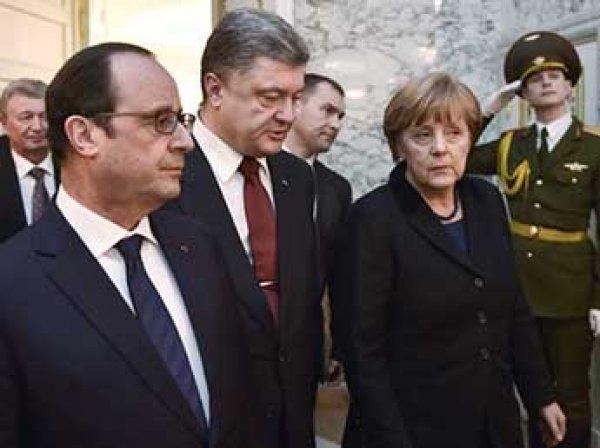 Меркель не ждет Путина: президент России не поедет в Париж на ужин «нормандской четвёрки»