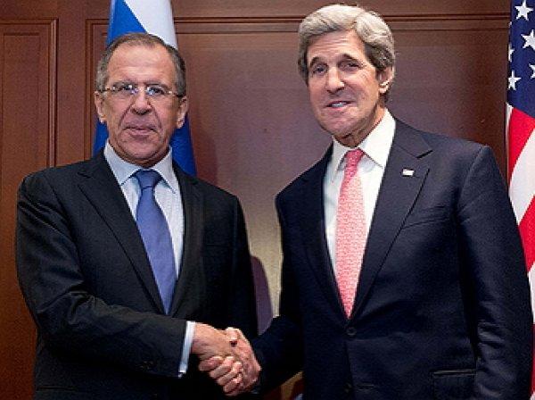 Названа дата и место встречи Лаврова и Керри по Сирии