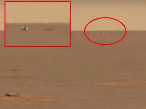 На YouTube опубликовано ВИДЕО НЛО рядом с марсоходом Opportunity на Марсе