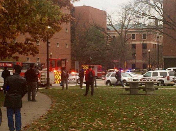 Неизвестный открыл стрельбу на территории университета в Огайо и добивал пострадавших мачете