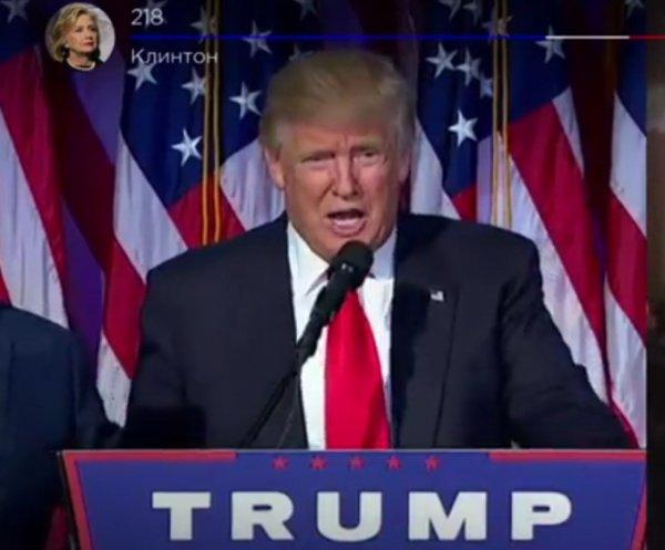 Выборы президента США 2016: 45-й президент США Дональд Трамп выступил перед нацией (ВИДЕО)