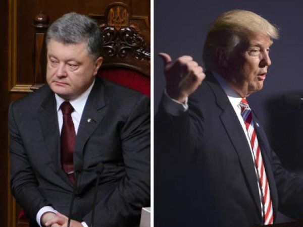 """Порошенко пожаловался по телефону Трампу на """"российскую агрессию"""""""
