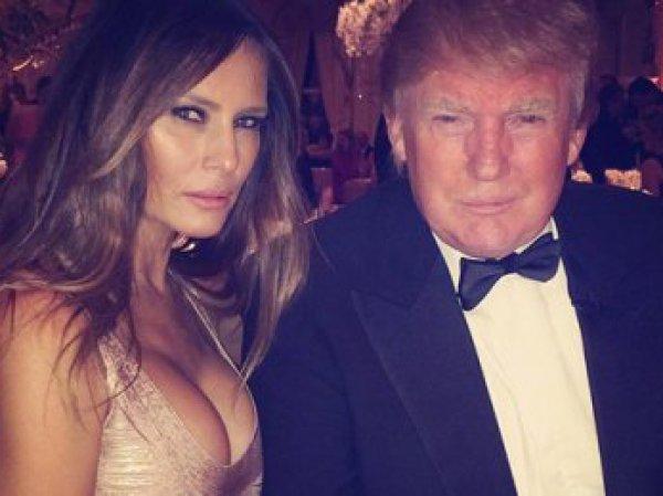 Меланья Трамп праздновала победу мужа в наряде от любимого дизайнера Хилари Клинтон (ФОТО)