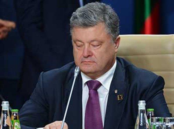 """Порошенко обвинил Россию в """"гибридном присвоении истории"""""""