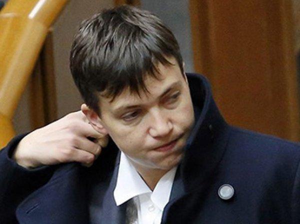 Савченко назвала баранами депутатов Рады Украины