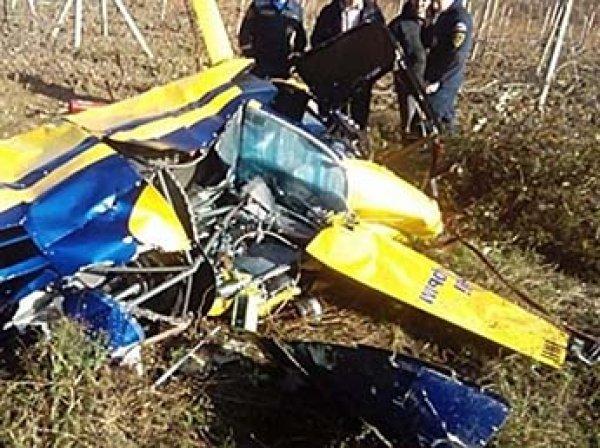 Вертолет разбился в Крыму: 3 человека погибли