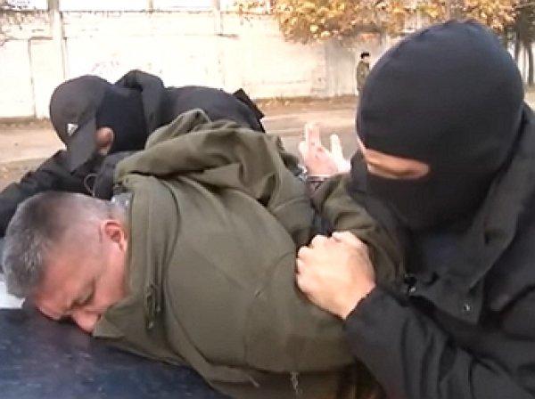 Опубликовано видео задержания украинских диверсантов в Крыму