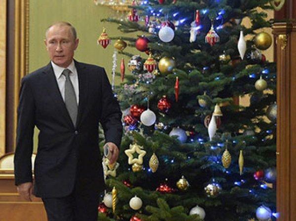Песков рассказал СМИ о планах Путина на новогодние каникулы
