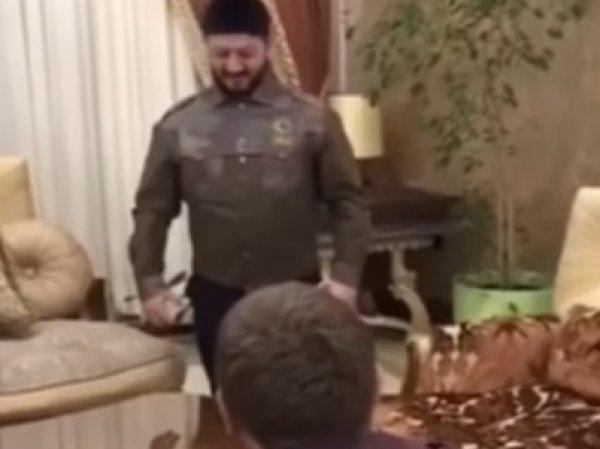На YouTube обнародовано ВИДЕО репетиции Галустяна с Кадыровым номера к юбилею КВН