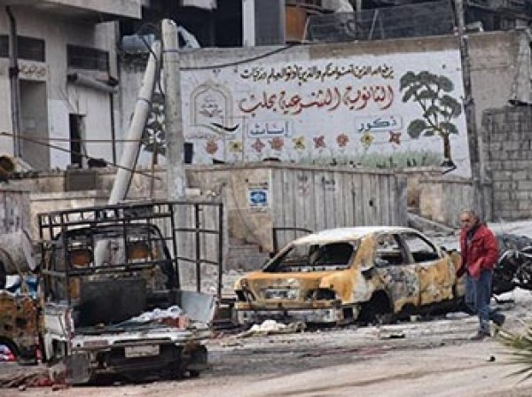 В сирийском Алеппо нашли массовые захоронения людей со следами пыток (ВИДЕО)