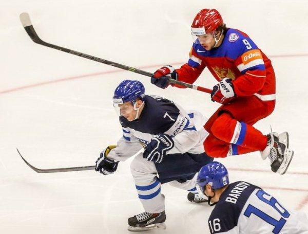 Хоккей, Россия – Финляндия: обзор матча от 18.12.2016, видео голов, счет, результат матча (ВИДЕО)