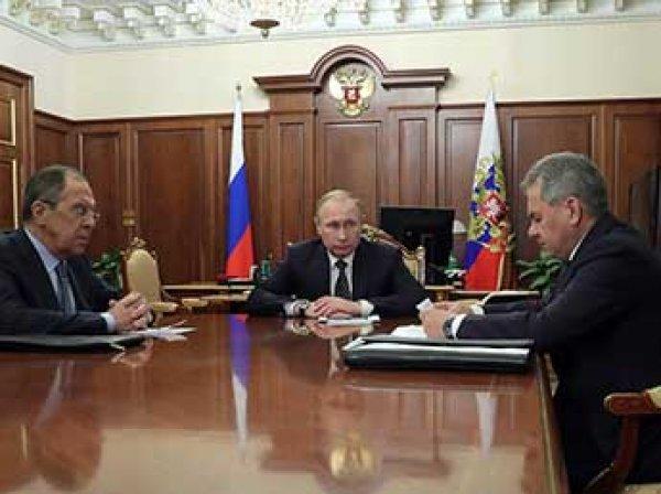 Путин объявил о введении перемирия в Сирии (ВИДЕО)