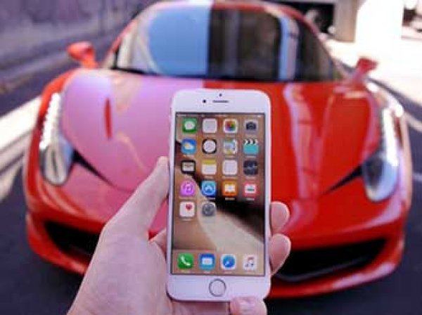 Apple анонсировал скорый выпуск iPhone Ferrari