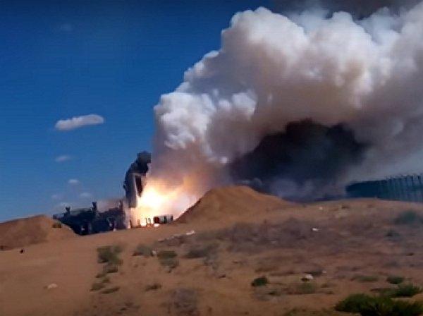 YouTube ВИДЕО: неудачный запуск ракеты С-300 попал на ВИДЕО
