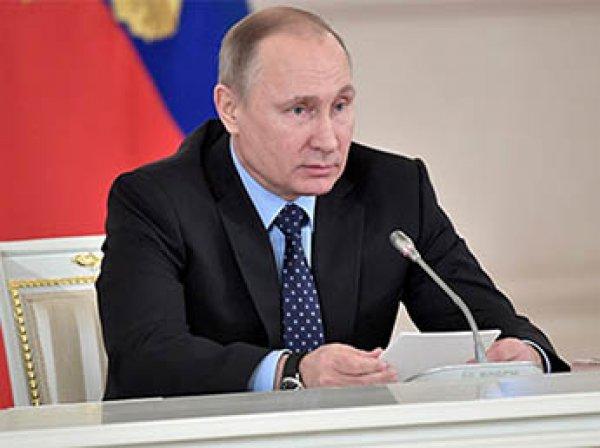 Путин отреагировал на предложение Лаврова ввести новые контрсанкции