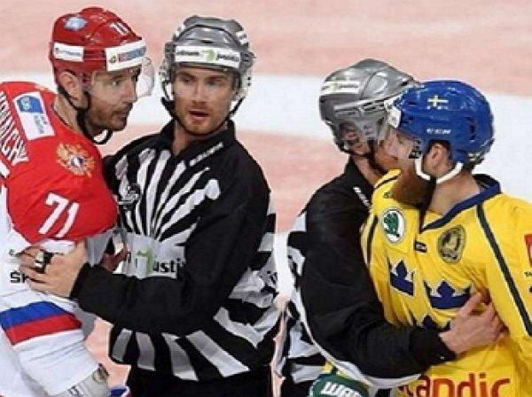 Хоккей, Швеция - Россия: обзор матча от 15.12.2016, видео голов, счет, результат матча (ВИДЕО)
