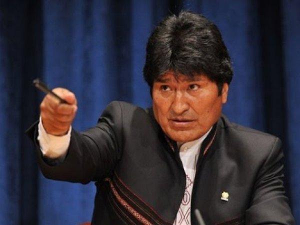 YouTube ВИДЕО: президент Боливии включил порно во время заседания суда в Гааге