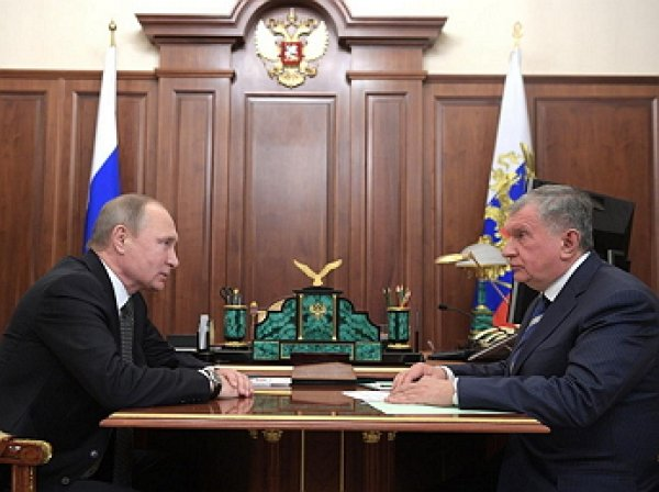 Путин назвал удачным время для приватизации «Роснефти»