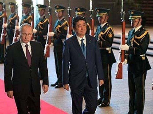 Путин раскрыл детали мирного договора с Японией по Курилам