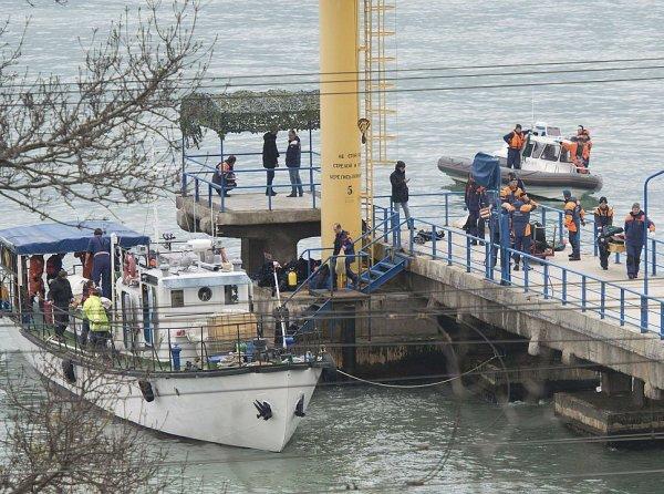 Опубликовано ФОТО из Ту-154, потерпевшего крушение в Сочи
