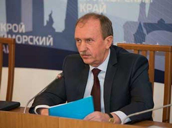 Вице-губернатор Приморья задержан и помещен под домашний арест