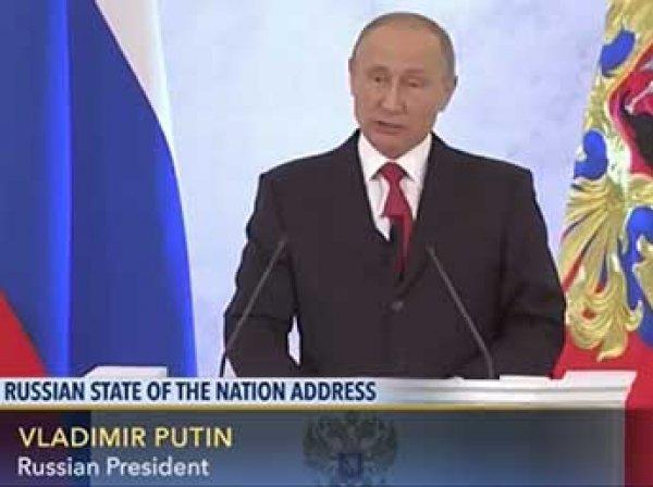 """""""Без фейерверков"""": послание Путина заинтересовало иностранные СМИ"""